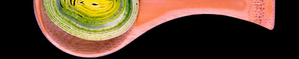 Fotografie detaliu culori contrastante si spațiu negativ